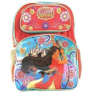 Elena 16 Inch Large Backpack  - Red By Elena